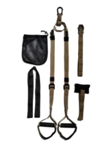 Skaize Military Tactical Suspension Trainer Schlingentraining mit Türanker, Extender Gurt, Outdoor Anker - 1